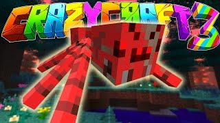Minecraft Crazy Craft 3: Radioactive Spider Hunt! #84