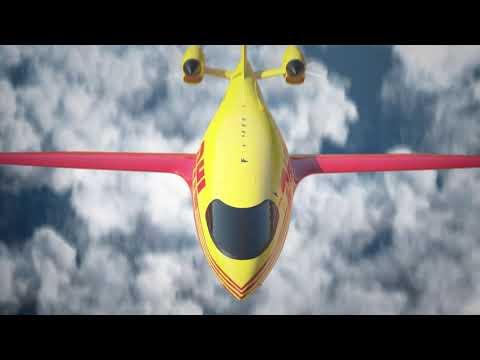 """DHL bestellt 12 """"Alice""""-Elektroflugzeuge vom Hersteller Eviation"""