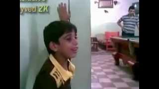 طفل عراقي - موال يبكي الحجر - صوت حزين