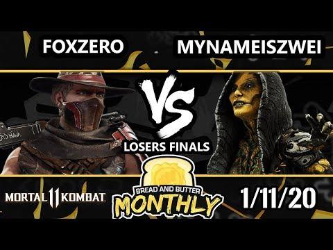 BnB 19 Mortal Kombat 11 - FoxZer0 (Erron Black) Vs. MyNameIsZwei (D'Vorah) MK 11 Losers Finals