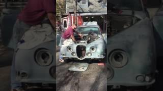 1965 Jaguar 3.8 S Type vid 1