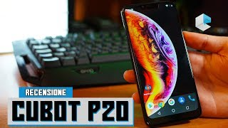 Recensione Cubot P20, clone di iPhone X ma solo nella forma