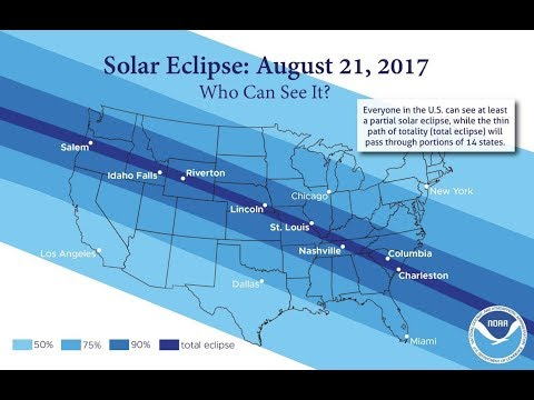 Cities preparing for chaos during August 21 Solar Eclipse - Cellular outages/Major gridlock