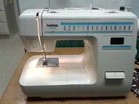 BROTHER XL 40 Free Arm Sewing Machine Multi Stitch Sales Demo Extraordinary How To Thread A Brother Xl 3100 Sewing Machine