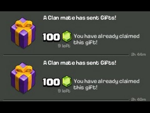 RECIVING FREE GEMS AS GIFT IN COC | STRATERGY I USED TO CLIMB TO LEGENDS