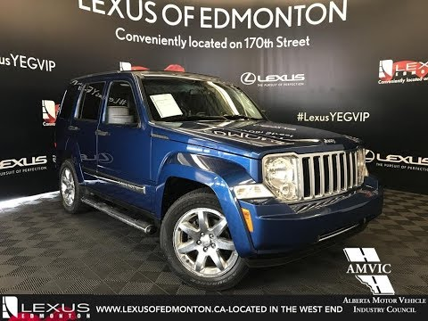 Used Blue 2010 Jeep Liberty Limited Edition Walkaround Review Airdrie Alberta
