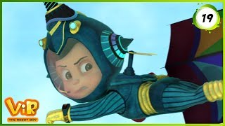 Vir: The Robot Boy | Vir Vs Umbrella Man | Action Show for Kids | 3D cartoons