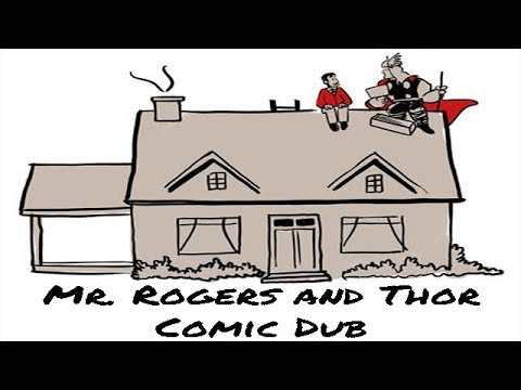 Mr Rogers And Thor Comic Dub Youtube