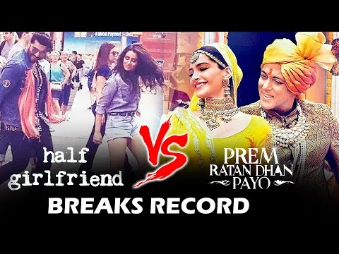 Arjun Kapoor's Half Girlfriend To BREAK RECORD Of Salman's Prem Ratan Dhan Payo