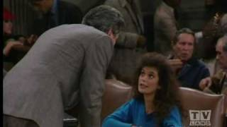 Night Court Dan Fielding fends off Teri Hatcher