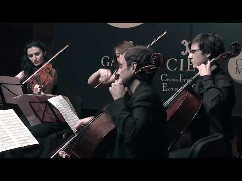 J.  Brahms.  Sexteto para cuerda en Si Bemol Mayor,  Op. 18.