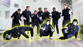 SIDEMEN LEARN TO DANCE ft. JABBAWOCKEEZ