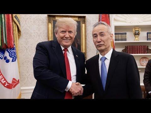 Trump meets with Chinese Vice Premier Liu He in Washington