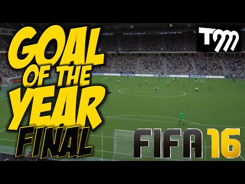 Fifa 16 - GOAL OF THE YEAR - FINAL!!!