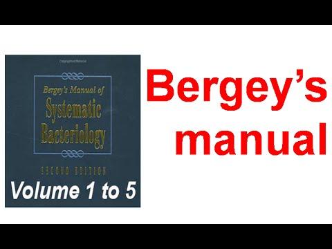 Bergy's Manual