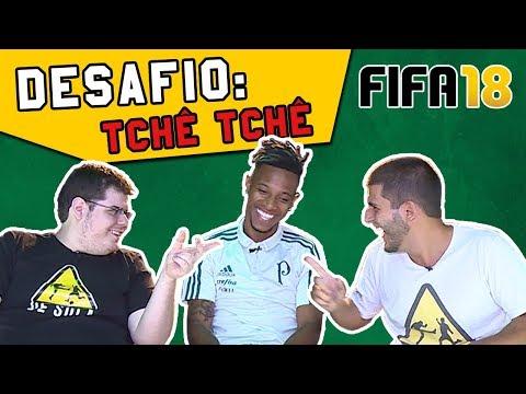 TCHÊ TCHÊ NO DESAFIO DE FIFA 18 CONTRA O DE SOLA - CHELSEA X MANCHESTER CITY