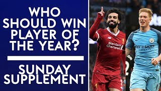 Who should win Premier League Player of the Year? | Sunday Supplement | Full Show