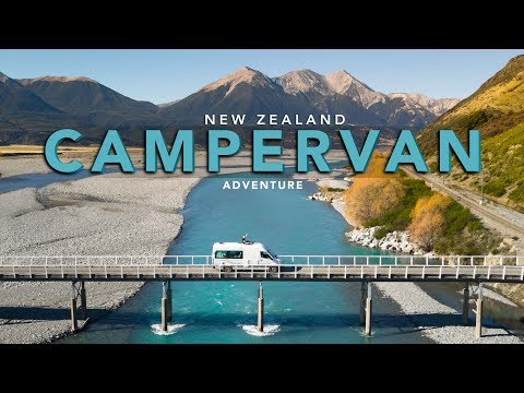New Zealand Campervan Adventure - Photographing The South Island - Part 1