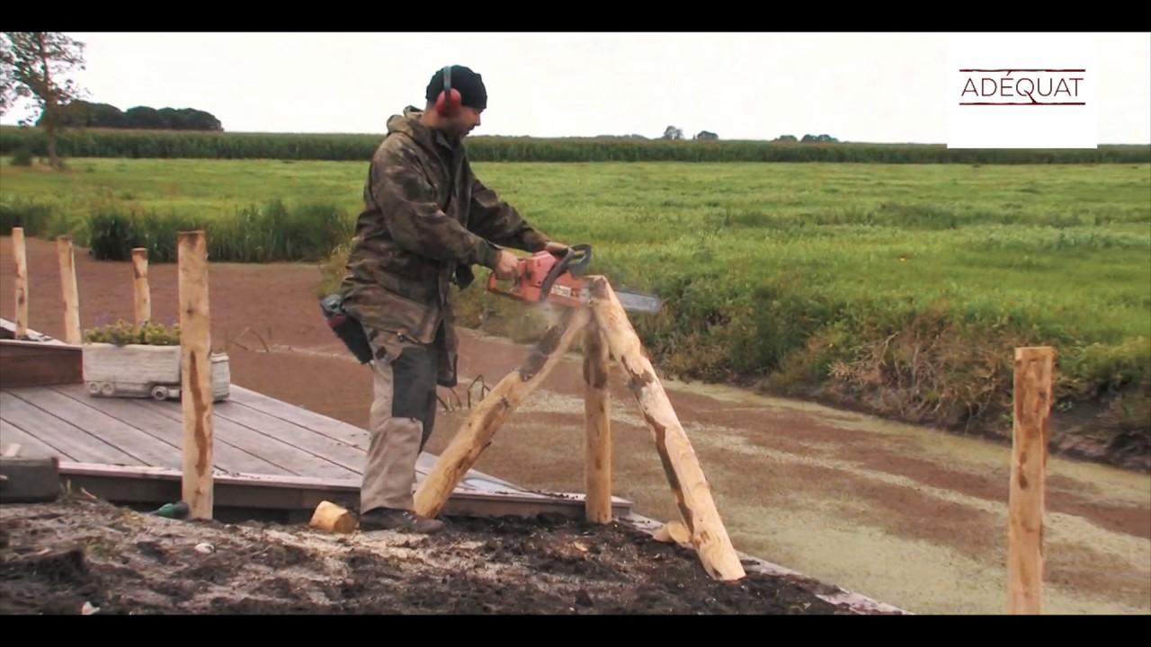 staketenzaun aufbauen staketenzäune aufstellen - youtube