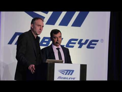 Mobileye self driving car full presentation from CES 2017