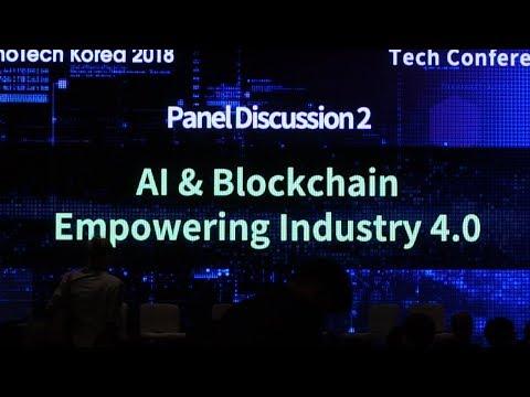 SyncFab Innotech Korea AI & Blockchain empowering Industry 4.0 Panel