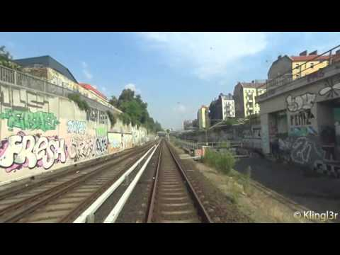 Führerstandsmitfahrt S-Bahn Berlin Westend - Bundesplatz S41 BR485