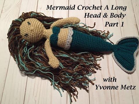 Mermaid Crochet A Long Part 1
