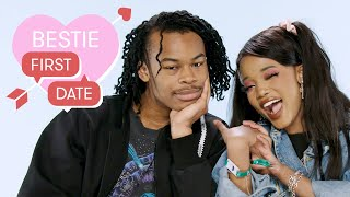 Bestie Picks Bae's Aphi and Yohance's First Date at a Nickelodeon Theme Park | Bestie First Date