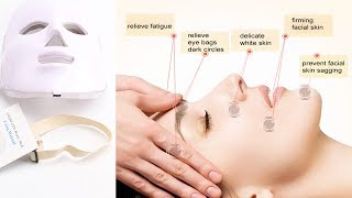7 Color LED Mask Facial Therapy - Anti-Wrinkle And Acne Removal Machine