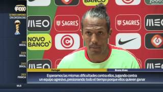 """""""México ha demostrado que es bueno"""": Bruno Alves"""