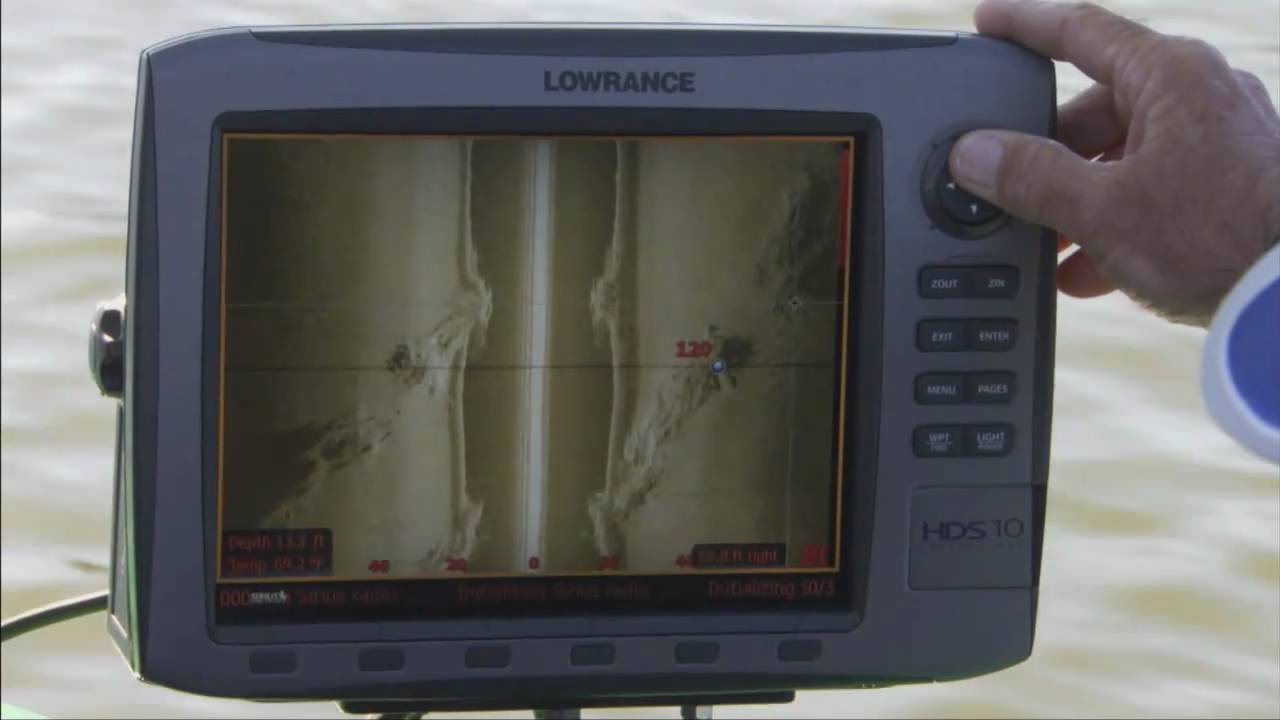 Lowrance Hds Structure Scan Shaw Youtube