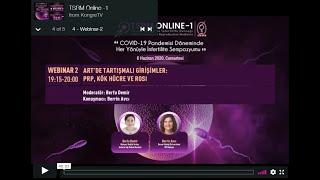tsrmonline - Webinar 2 - ART'de tartışmalı konular