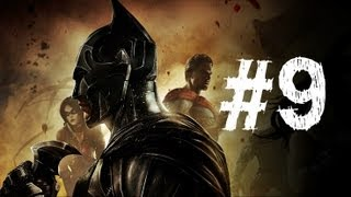 Injustice Gods Among Us Gameplay Walkthrough Part 9 - Superman - Chapter 9