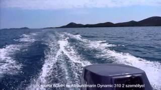 Yamaha 6 DMHS full throttle