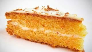 МОРКОВНЫЙ ТОРТ простой рецепт очень вкусного морковного торта