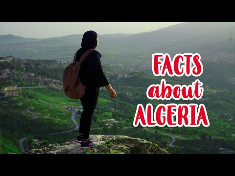 Top 13 FACTS ABOUT #ALGERIA I #Algerie en 90 seconds