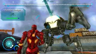 Iron Man 2: The Video Game - PSP - #02. Black Gold [2/2]