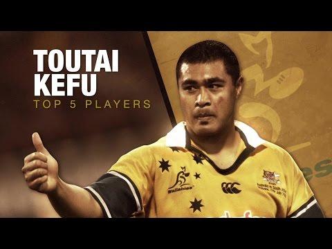 Top 5 Players | Tonga's Toutai Kefu