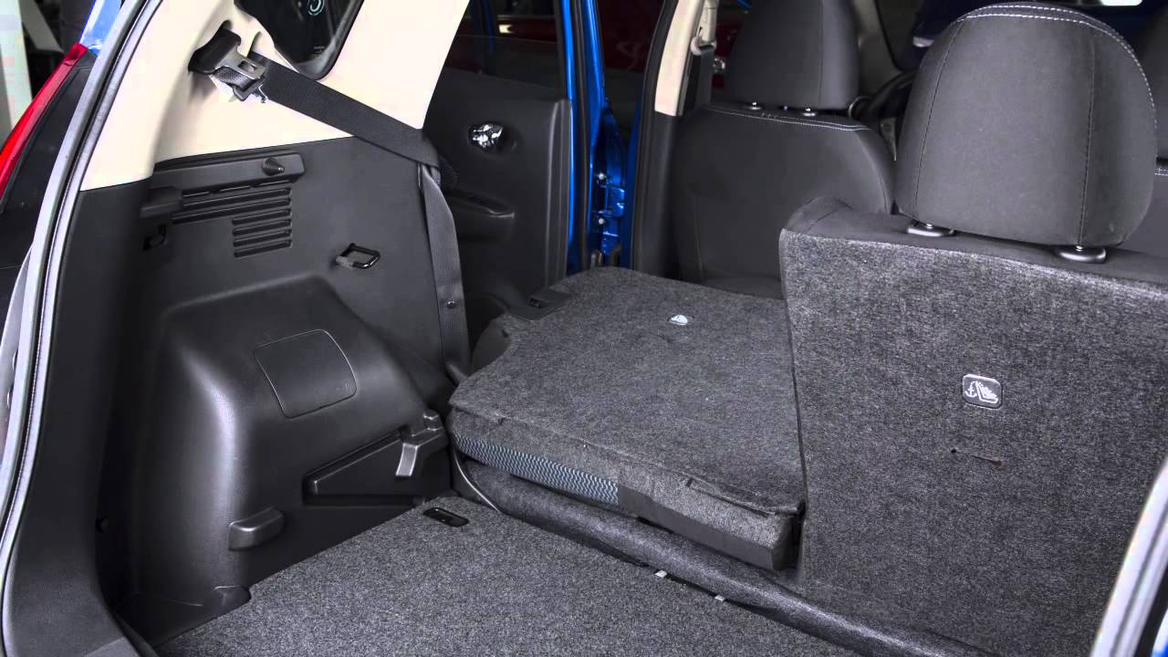 2015 Nissan Versa Note Seat Adjustments Youtube