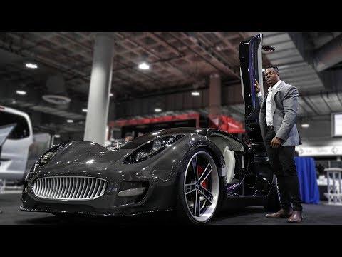 THE CRAZIEST CARS AT THE LA AUTO SHOW 2018