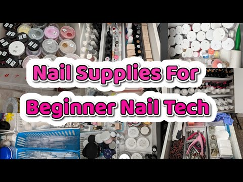 Nail Supplies For Beginner Nail Techs