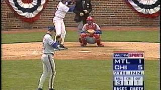 Cubs-Expos, April 3, 1998 (first 7th inning without Harry Caray)