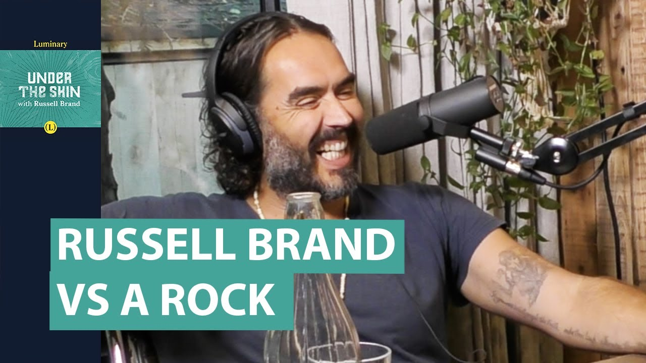 Who Is More Conscious? Me or A Rock? | Russell Brand