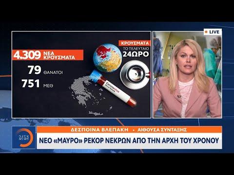 Νέο «μαύρο» ρεκόρ νεκρών από την αρχή του χρόνου | Κεντρικό Δελτίο Ειδήσεων 6/4/2021 | OPEN TV