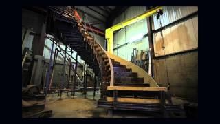 Milbank Precast Spiral Staircase Timelapse