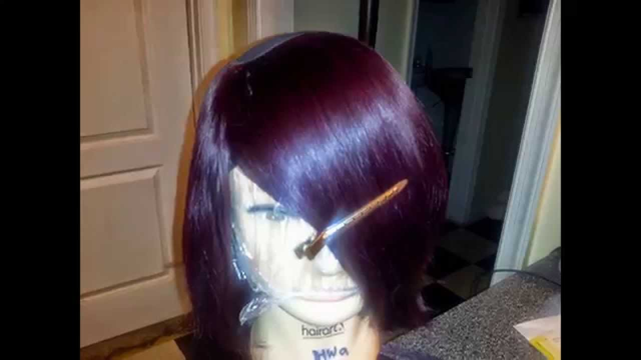 Short bob wig using outre duby velvet remy hair youtube pmusecretfo Image collections