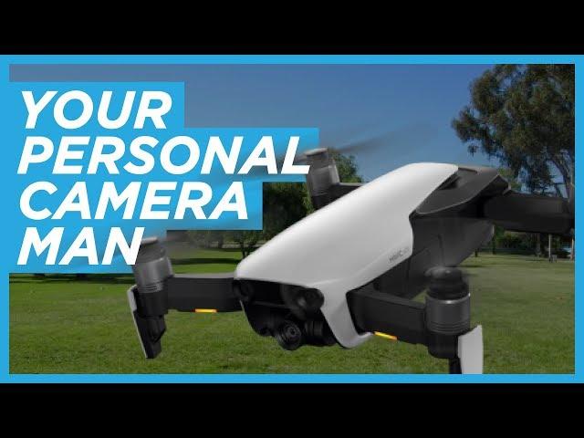 DJI ActiveTrack on the Mavic Air Drone