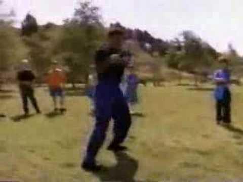 Black Ranger Walter Jones Dancing