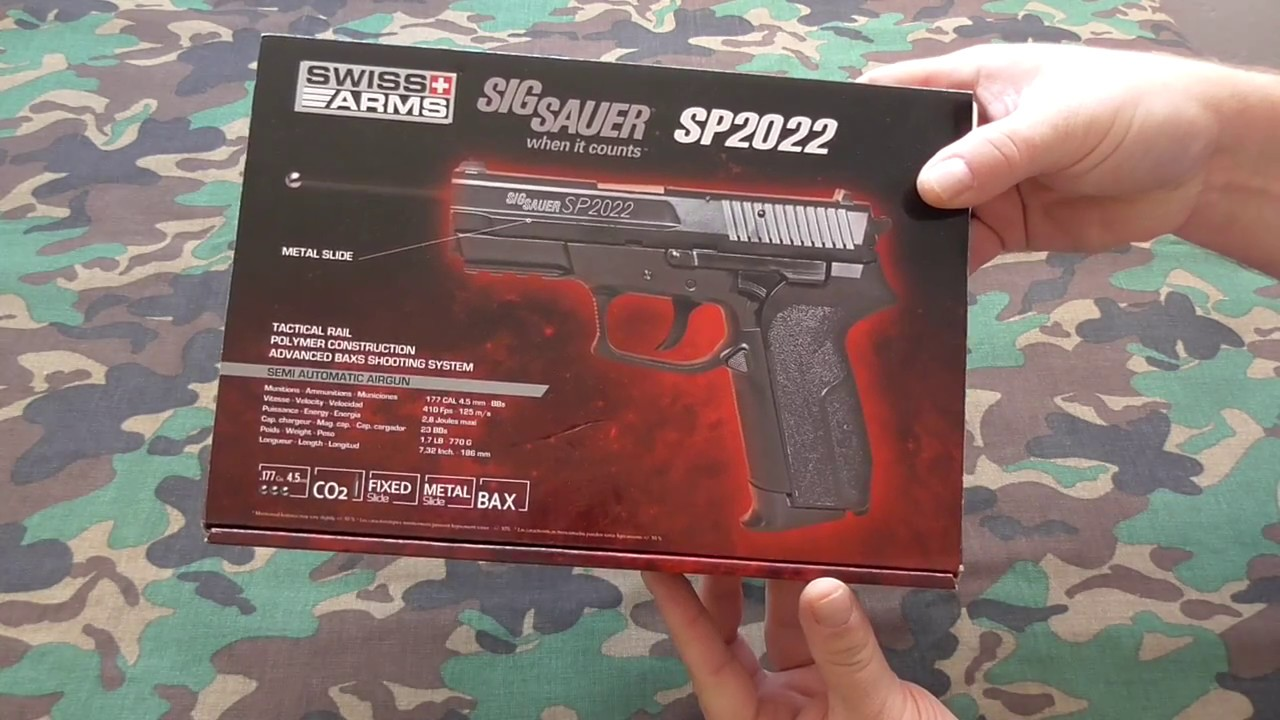 7ea6e3be3ee Swiss arms KWC Sig Sauer SP2022 4