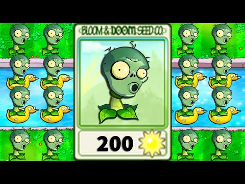 plants vs zombies hack android - 100% REPEATER ZOMPLANT vs All ZOMBIES 2 in Plants vs Zombies Mod